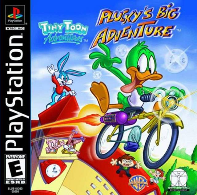 Tiny Toon Adventures: Plucky's Big Adventure - PlayStation