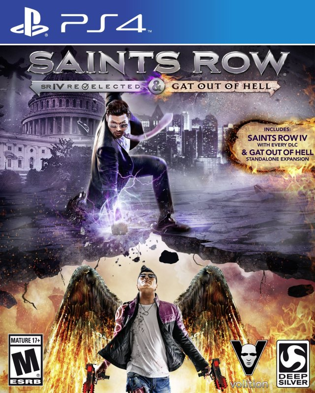 Saints Row IV: Re-Elected & Gat Out of Hell - PlayStation 4