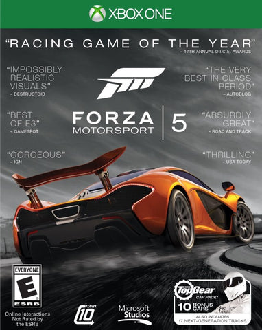 Forza Motorsport 5 (Racing Game of the Year Edition) - Xbox One