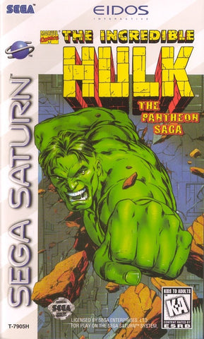 The Incredible Hulk: The Pantheon Saga - SEGA Saturn [USED]