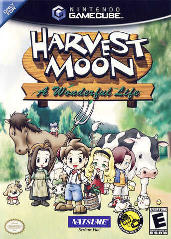 Harvest Moon: A Wonderful Life - GameCube [USED]