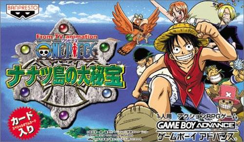 From TV animation - One Piece: Nanatsu Shima no Daihihou - Game Boy Advance (RPG, 2002, JP )