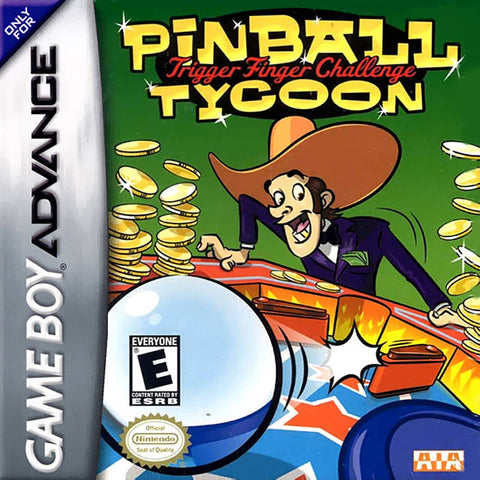 Pinball Tycoon - Game Boy Advance [USED]