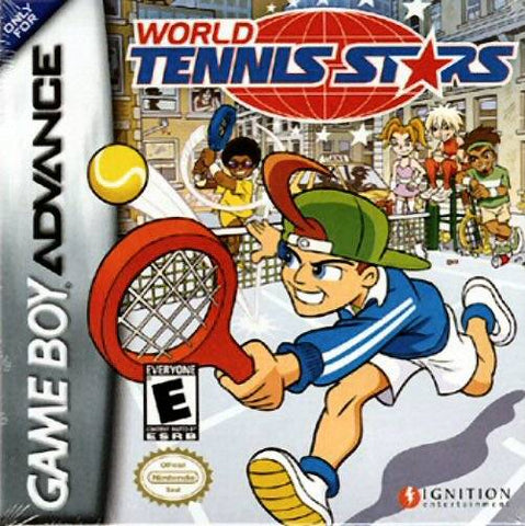 World Tennis Stars - Game Boy Advance [USED]