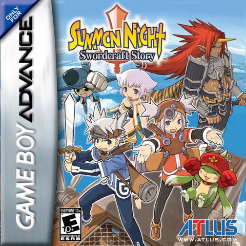 Summon Night: Swordcraft Story - Game Boy Advance [USED]
