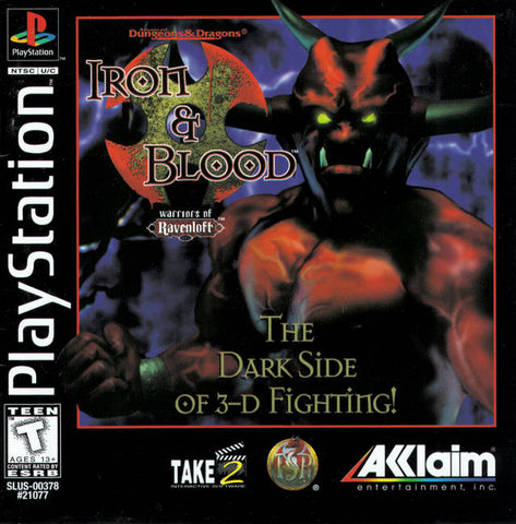 Advanced Dungeons & Dragons: Iron & Blood: Warriors of Ravenloft - PlayStation