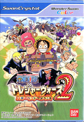 One Piece: Treasure Wars 2: Buggyland e Youkoso - WonderSwan Color (Japan)