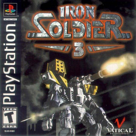 Iron Soldier 3 - PlayStation