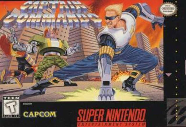 Captain Commando - Super Nintendo [USED]