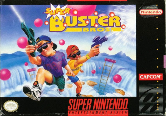 Super Buster Bros. - Super Nintendo [USED]