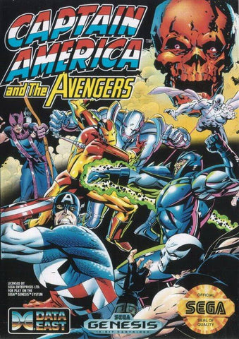 Captain America and the Avengers - SEGA Genesis [USED]