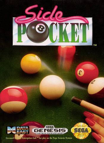Side Pocket - SEGA Genesis [USED]
