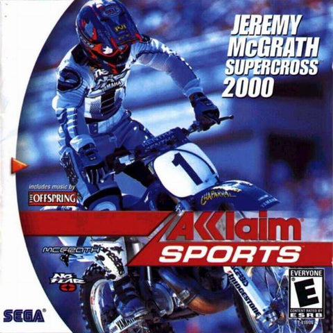 Jeremy McGrath Supercross 2000 - SEGA Dreamcast (RAC, 2000) [USED]