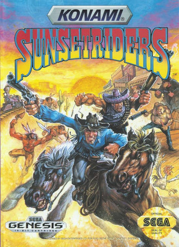 Sunset Riders - SEGA Genesis [USED]