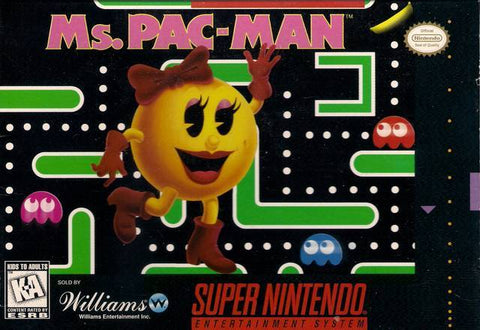 Ms. Pac-Man - Super Nintendo [USED]