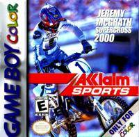 Jeremy McGrath Supercross 2000 - Game Boy Color [USED]
