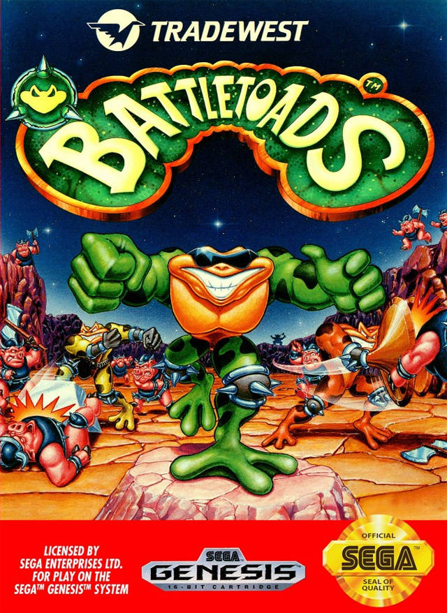Battletoads - SEGA Genesis [USED]