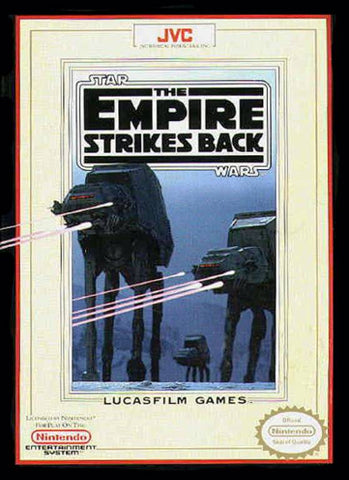 Star Wars: The Empire Strikes Back - Nintendo NES [USED]