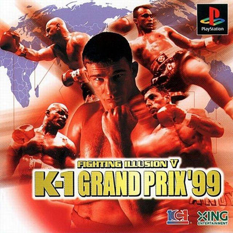 Fighting Illusion V: K-1 Grand Prix '99 - PlayStation (Japan)