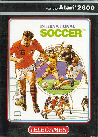 International Soccer - Atari 2600