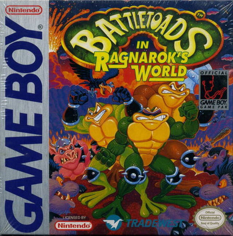 Battletoads in Ragnarok's World - Game Boy [USED]