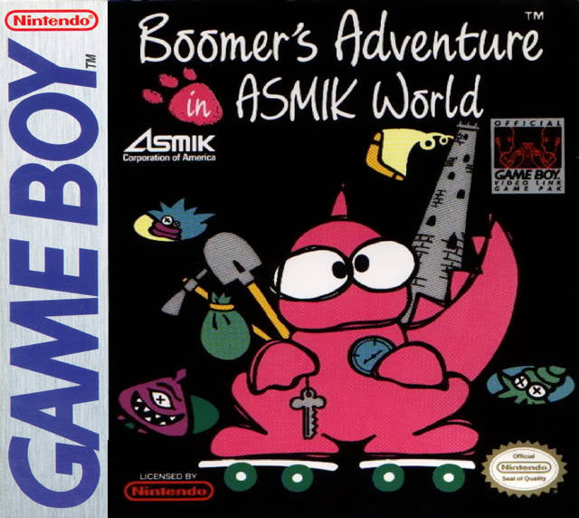 Boomer's Adventure in Asmik World - Game Boy (Action, 1989, US )