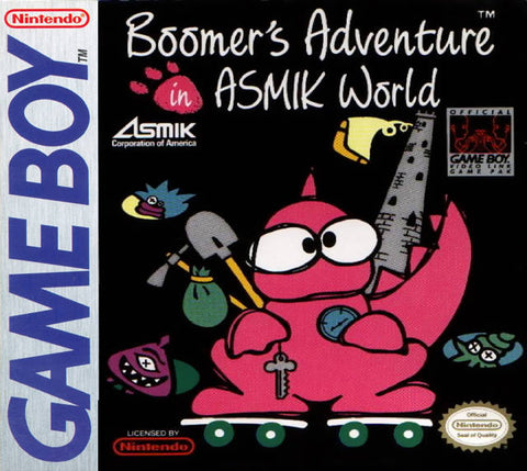 Boomer's Adventure in Asmik World - Game Boy [USED]