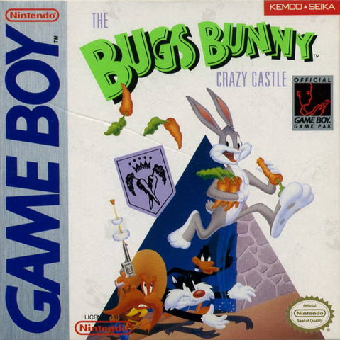 The Bugs Bunny Crazy Castle - Game Boy [USED]