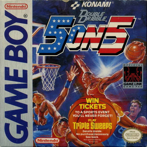 Double Dribble: 5 on 5 - Game Boy [USED]