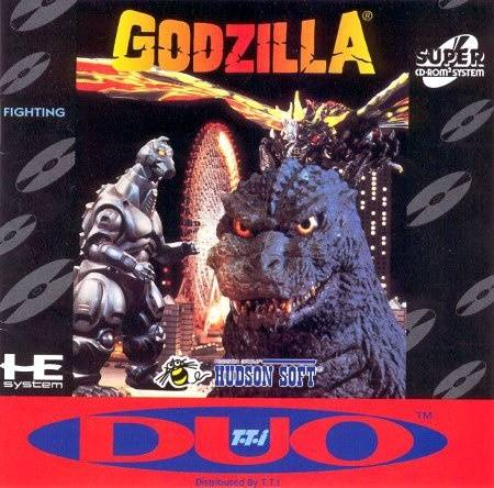 Godzilla - Turbo CD