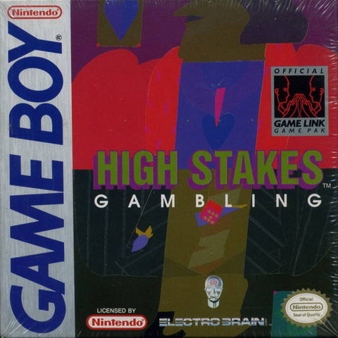 High Stakes Gambling - Game Boy [USED]