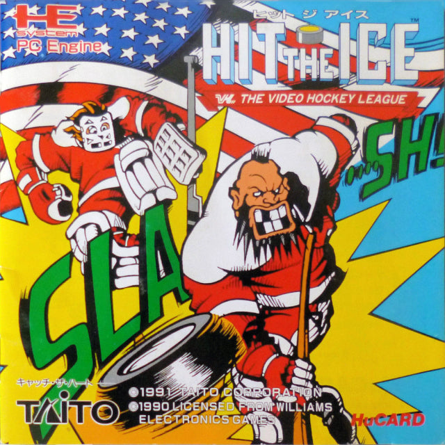 Hit the Ice - TurboGrafx-16 (Japan)
