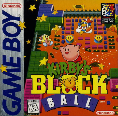 Kirby's Block Ball - Game Boy [USED]