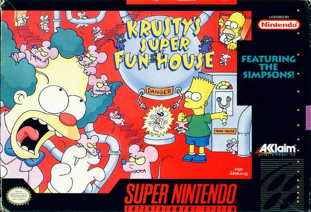 Krusty's Super Fun House - Super Nintendo [USED]