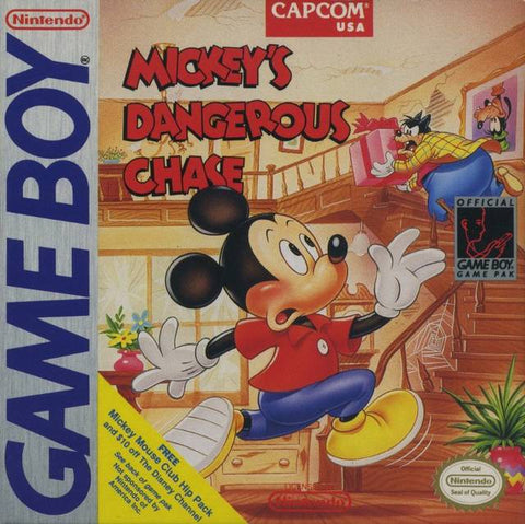 Mickey's Dangerous Chase - Game Boy [USED]