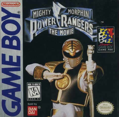 Mighty Morphin Power Rangers: The Movie - Game Boy [USED]