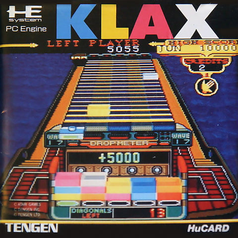 Klax - TurboGrafx-16 (Japan)