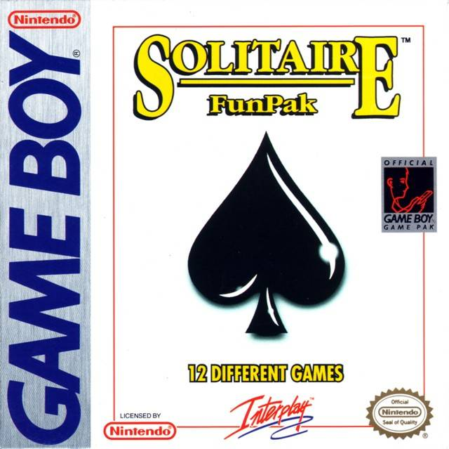 Solitaire FunPak - Game Boy (Board Game, 1994, US )