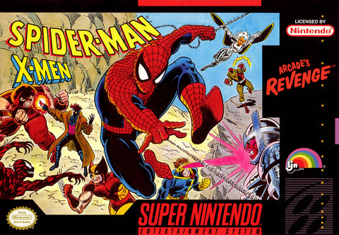 Spider-Man / X-Men: Arcade's Revenge - Super Nintendo [USED]