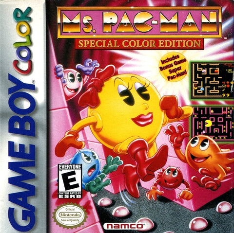 Ms. Pac-Man: Special Color Edition - Game Boy Color [USED]