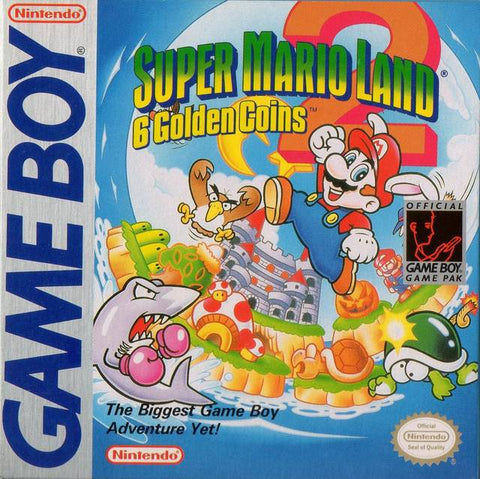 Super Mario Land 2: 6 Golden Coins - Game Boy [USED]