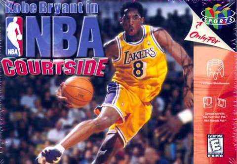 Kobe Bryant in NBA Courtside - Nintendo 64 [USED]