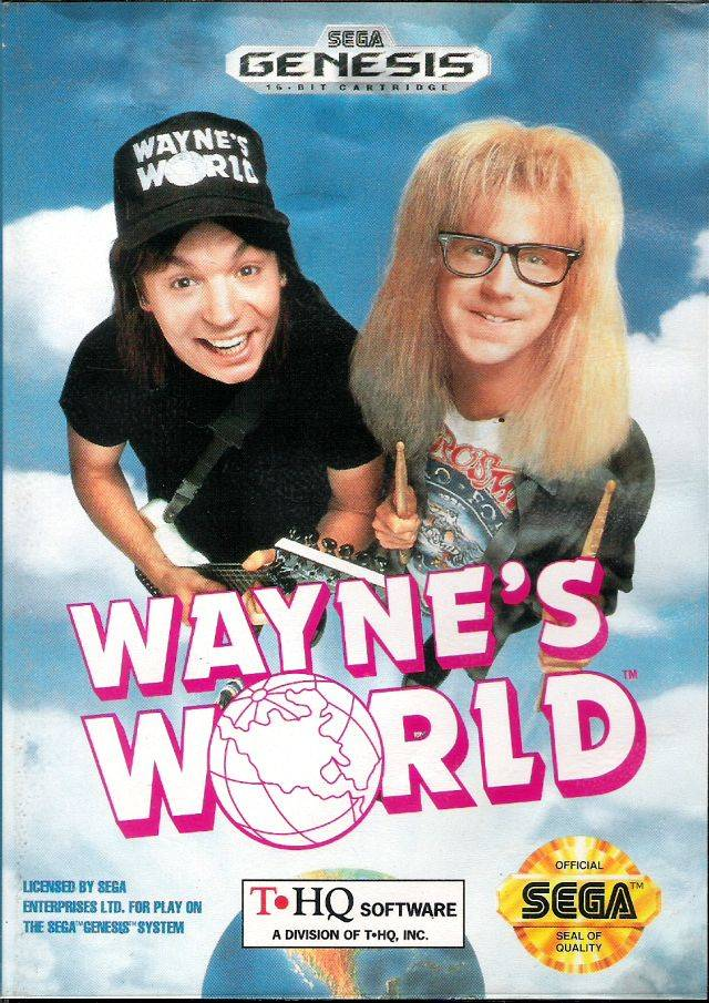 Wayne's World - SEGA Genesis [USED]