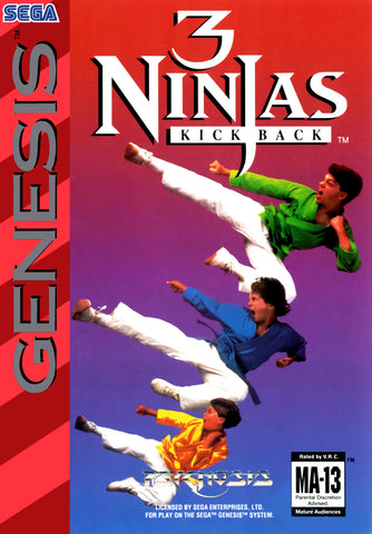 3 Ninjas Kick Back - SEGA Genesis [USED]