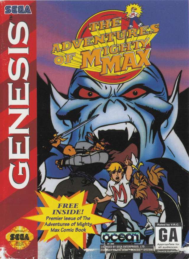 The Adventures of Mighty Max - SEGA Genesis [USED]