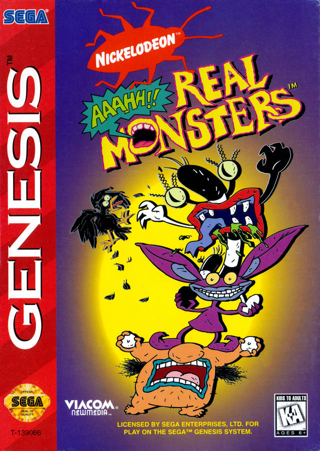 AAAHH!!! Real Monsters - SEGA Genesis [CIB]