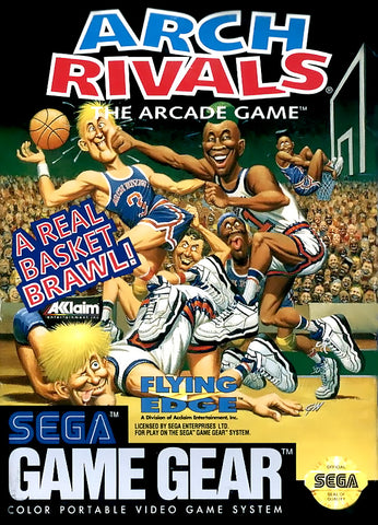 Arch Rivals: The Arcade Game - SEGA GameGear (Sports, 1992, US)