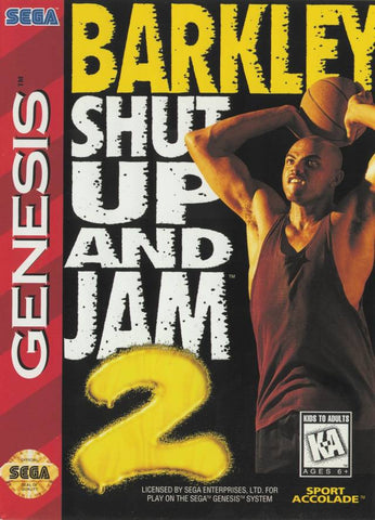 Barkley: Shut Up and Jam 2 - SEGA Genesis [USED]