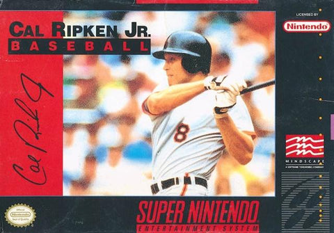Cal Ripken Jr. Baseball - Super Nintendo [USED]