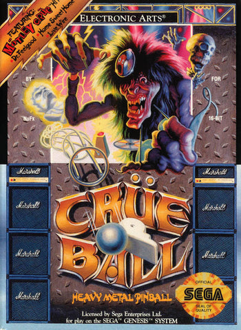 Crue Ball - SEGA Genesis [USED]